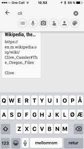 Google Keep_søk