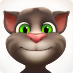 Ikonet til appen talking tom cat